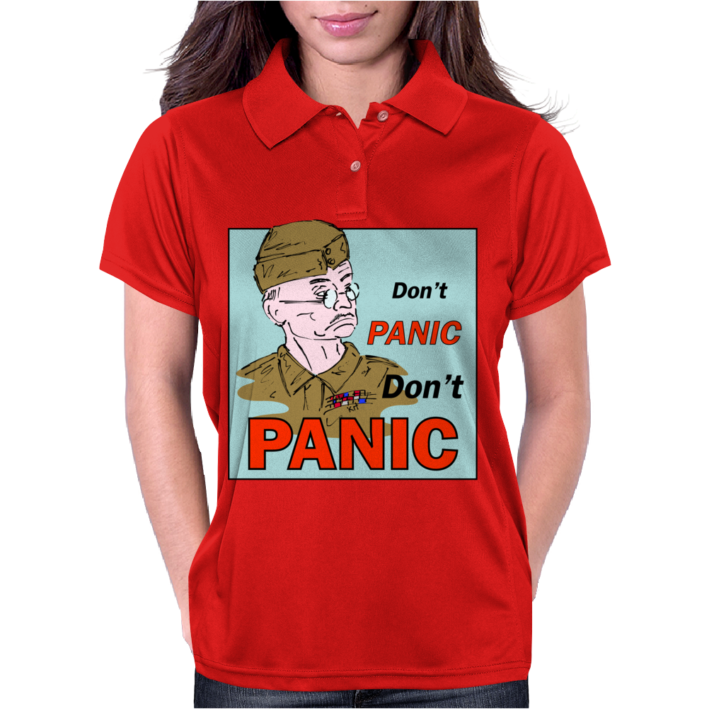 Dad's Army – Lance-Corporal Jones, Don't Panic Womens Polo