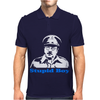 Dads Army Stupid Boy Mens Polo