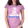 Dads Army Stupid Boy Womens Fitted T-Shirt