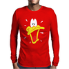 Daffy Duck Sweat Face Mens Long Sleeve T-Shirt