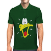 Daffy Duck Sweat Face Mens Polo