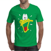 Daffy Duck Sweat Face Mens T-Shirt