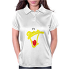 Daffy Duck Sweat Face Womens Polo