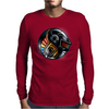 Daft Yin Yang Mens Long Sleeve T-Shirt