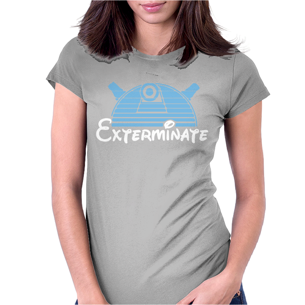 Dalek Dr Who Inspired Womens Fitted T-Shirt