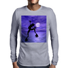 Dancing frog Mens Long Sleeve T-Shirt