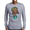 Dancing Groot Mens Long Sleeve T-Shirt