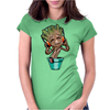 Dancing Groot Womens Fitted T-Shirt