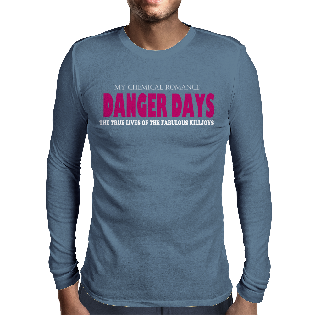 Danger Days The True Lives of the Fabulous Killjoys MCR Mens Long Sleeve T-Shirt