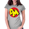 Danger mouse 80's Womens Fitted T-Shirt