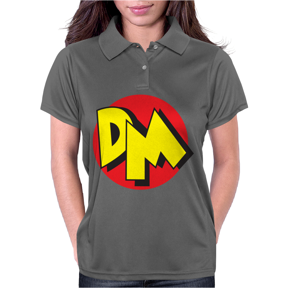 Danger mouse 80's Womens Polo