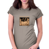 Danse Macabre Womens Fitted T-Shirt