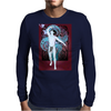 Danza Azul Mens Long Sleeve T-Shirt