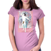 Danza rosa Womens Fitted T-Shirt