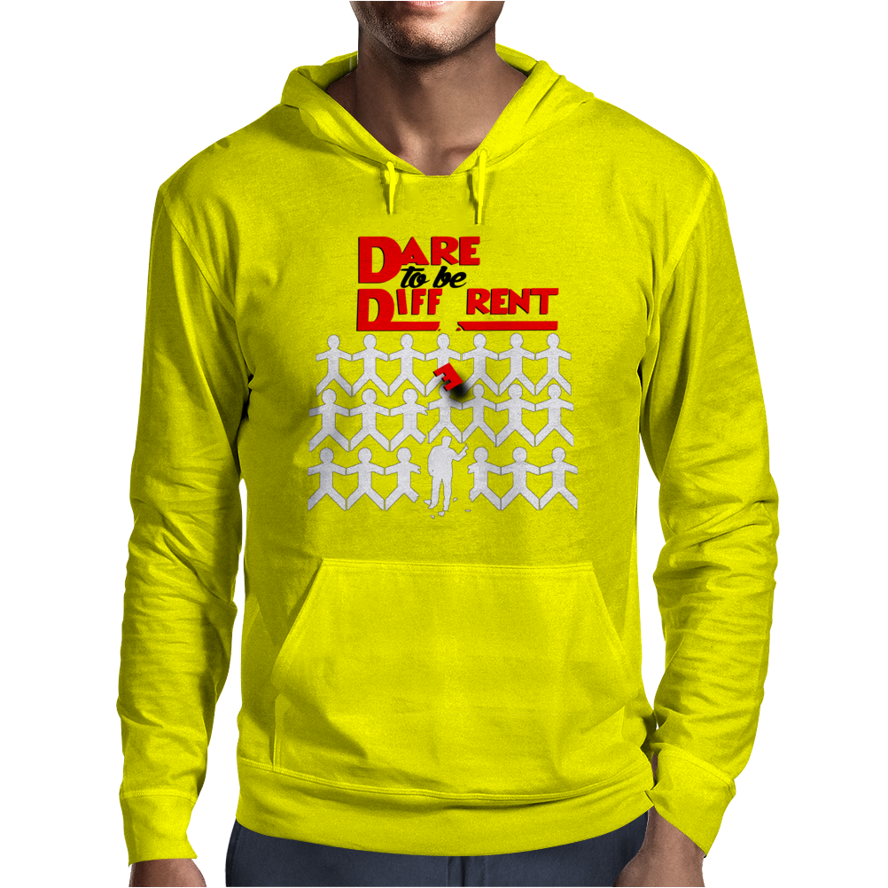 Dare To Be Different (For Men) Mens Hoodie