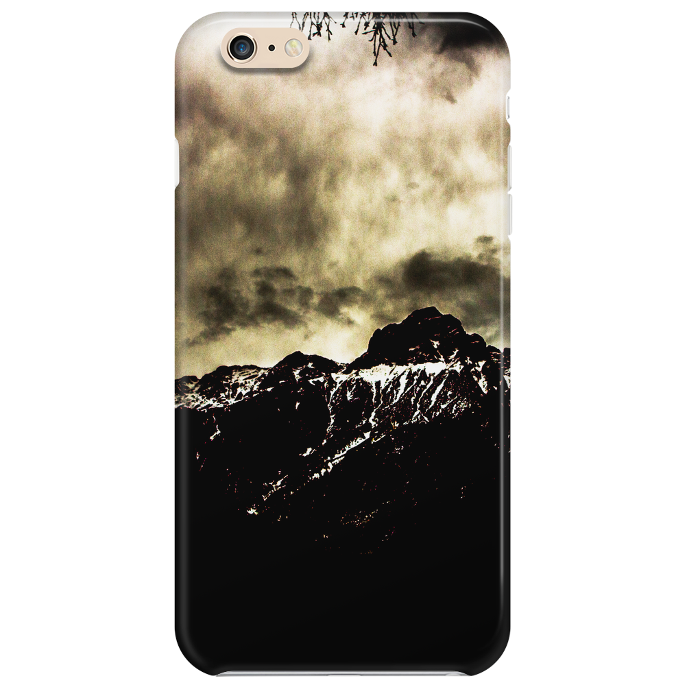 dark mountain Phone Case