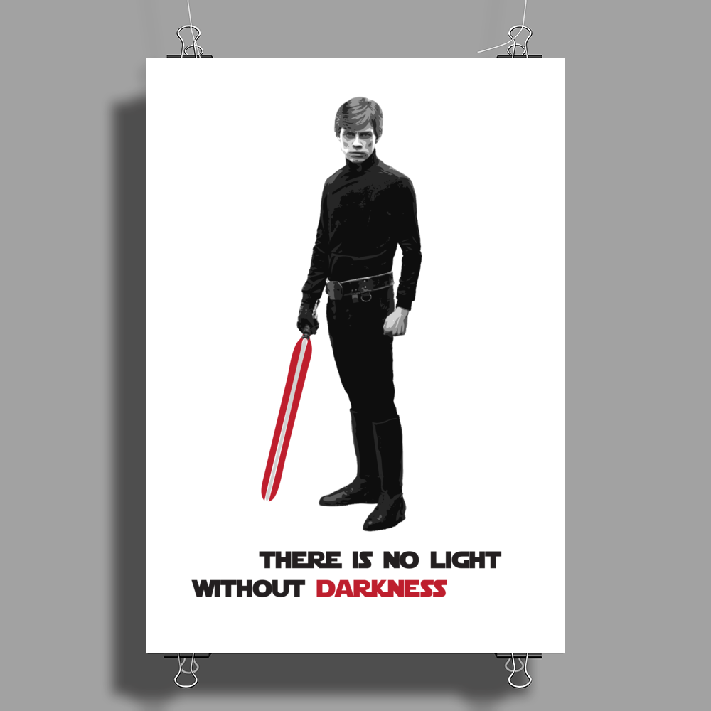 Dark Side Poster Print (Portrait)