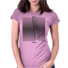 Dark wave Womens Fitted T-Shirt