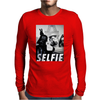 Darth Selfie Mens Long Sleeve T-Shirt