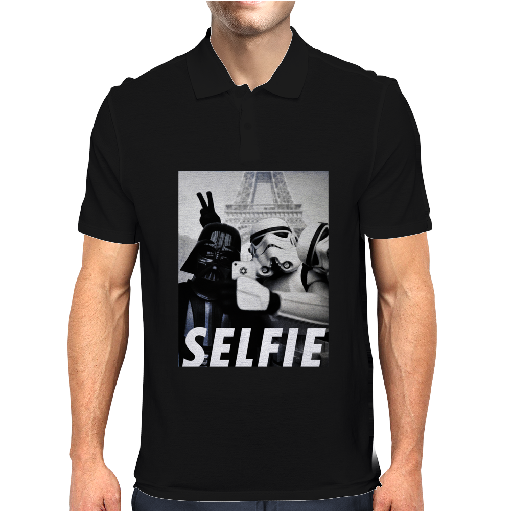 Darth Selfie Mens Polo