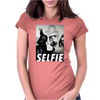 Darth Selfie Womens Fitted T-Shirt