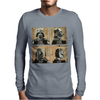 Darth Vader and Boba Fett Mug Shots Star Wars Mens Long Sleeve T-Shirt