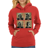 Darth Vader and Boba Fett Mug Shots Star Wars Womens Hoodie