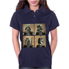 Darth Vader and Boba Fett Mug Shots Star Wars Womens Polo