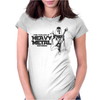 Darth Vader I Find Your Lack Of Heavy Metal Disturbing Womens Fitted T-Shirt
