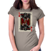 Darth Vader - Playing King Card Womens Fitted T-Shirt