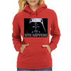 Darth Vader Sith Happens Ideal Birthday Present or Gift Womens Hoodie