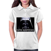 Darth Vader Sith Happens Ideal Birthday Present or Gift Womens Polo