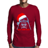 Darth Vader T-shirt Xmas Santa Christmas Star Wars Parody shirt Mens Long Sleeve T-Shirt
