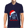 Darth Vader T-shirt Xmas Santa Christmas Star Wars Parody shirt Mens Polo
