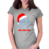 Darth Vader T-shirt Xmas Santa Christmas Star Wars Parody shirt Womens Fitted T-Shirt
