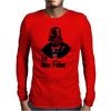 darth vather Mens Long Sleeve T-Shirt