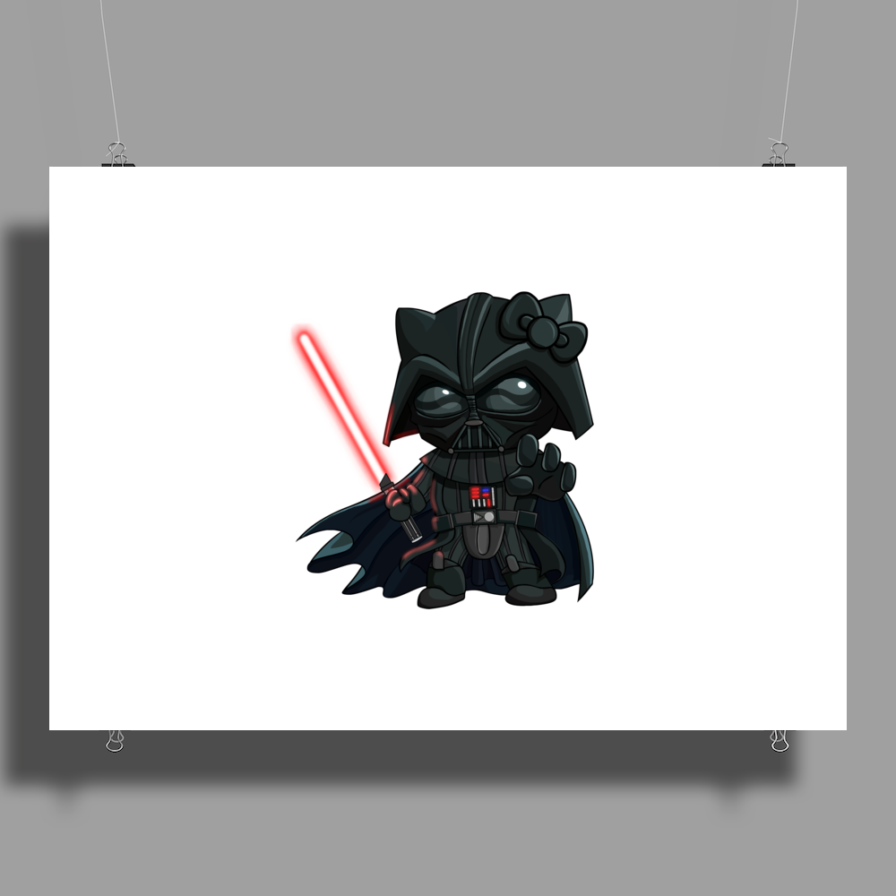 Darth_Kitty Poster Print (Landscape)