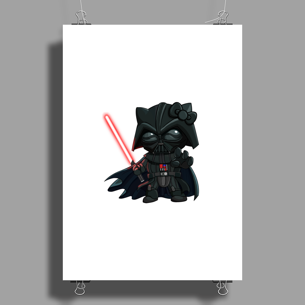 Darth_Kitty Poster Print (Portrait)