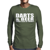 DARTS BEER Mens Long Sleeve T-Shirt