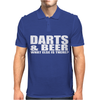 DARTS BEER Mens Polo