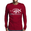 Darwin Evolution Mens Long Sleeve T-Shirt