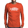 Darwin' - Fish Mens Long Sleeve T-Shirt