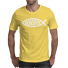 Darwin Fish - Nonsense Mens T-Shirt