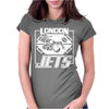 Dave Lister London Jets Womens Fitted T-Shirt