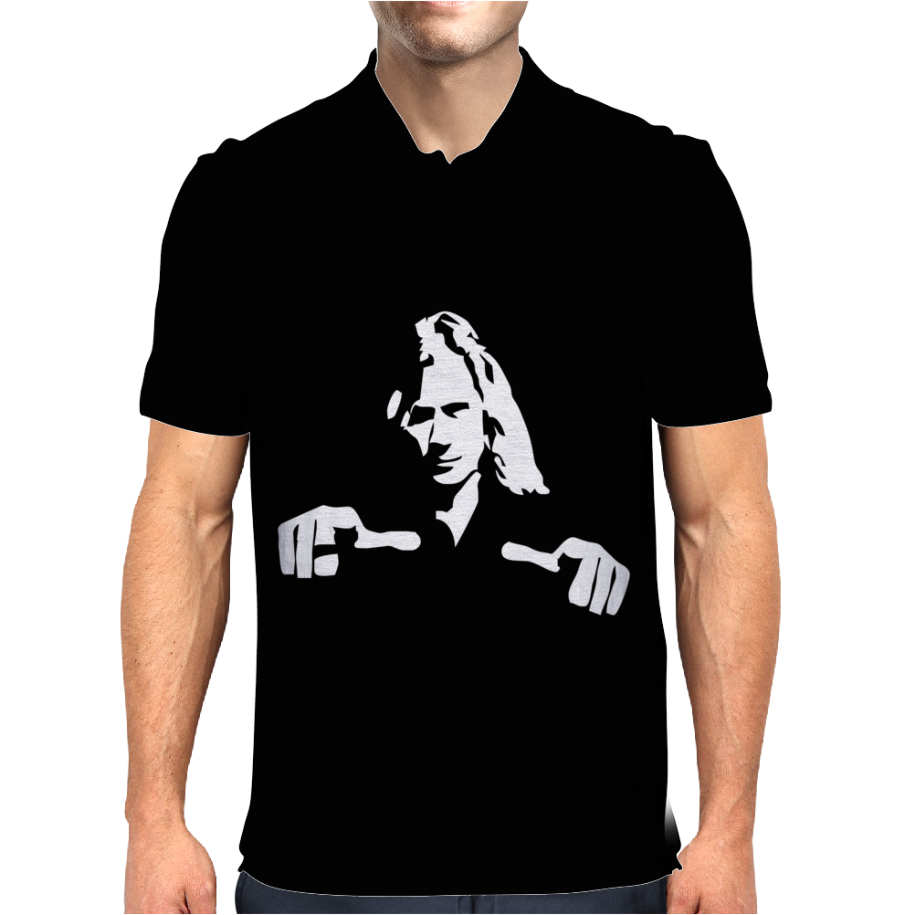 Dave Mustaine Mens Polo