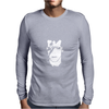David Bowie Guitar pop rock N roll Mens Long Sleeve T-Shirt