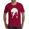 David Bowie Stencil Mens T-Shirt
