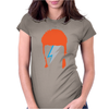 David Bowie Ziggy Womens Fitted T-Shirt