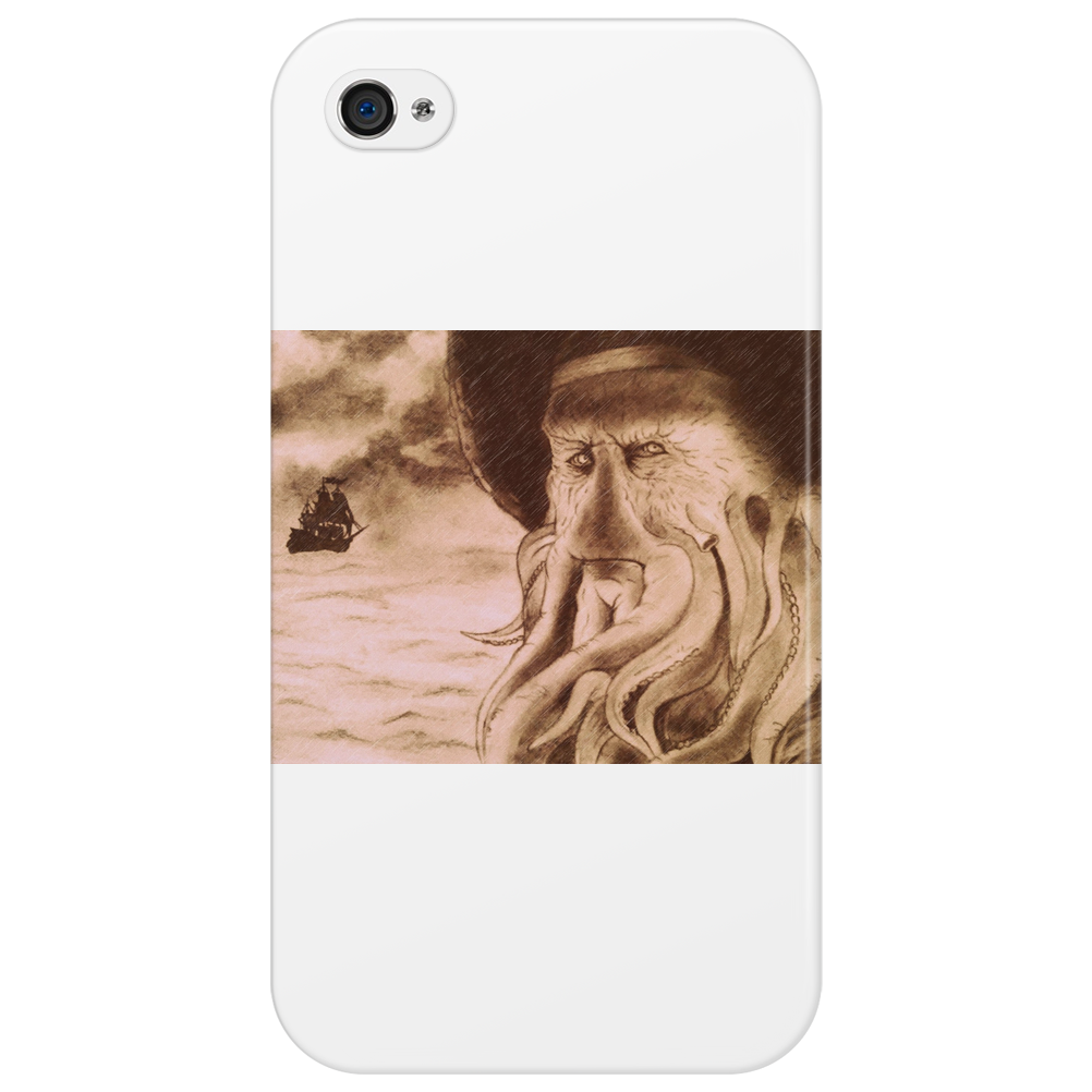 Davy Jones and the Flying Dutchman Phone Case