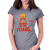 Dawn of Titan Womens Fitted T-Shirt